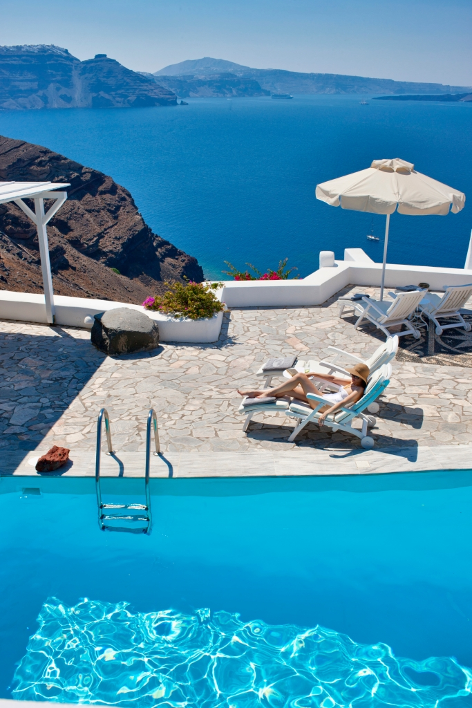 Swimming Pool at Canaves Oia